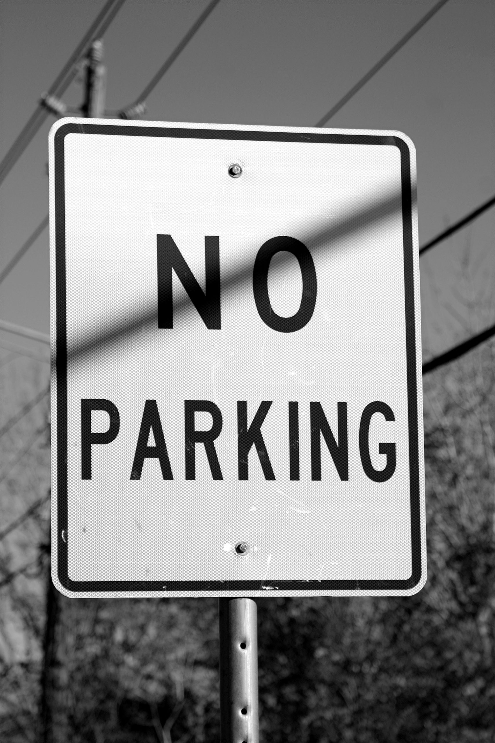 """No Parking"" Sign"