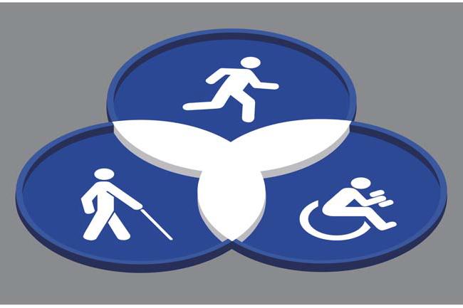 Inclusive Fitness Equipment Symbol